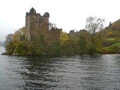 Urquhart Castle, Drumnadrochit, United Kingdom