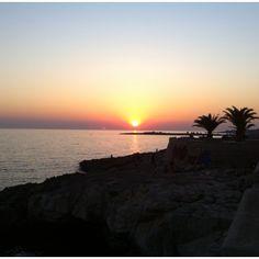 Sunset at Santa Maria al Bagno, Nardo', Salento, Puglia, Italy..the UjENA Sunset Tankini would look really good RIGHT HERE!