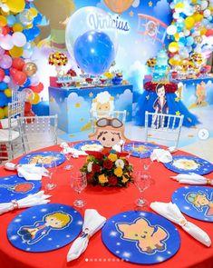 Fiesta temática principito para su primer año Prince Birthday Party, First Birthday Parties, Travel Party, The Little Prince, 1st Birthdays, Party Centerpieces, Party Themes, Baby Shower, Book Themes
