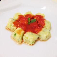 Fit Food Ideas: Gnocchi de Abobrinha & Batata Doce