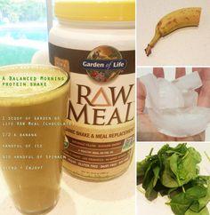 "Garden of Life RAW Meal recipe - ""Balanced Morning"""