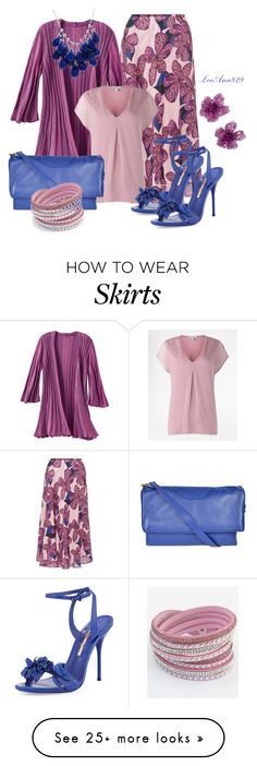 """""""midi skirt contest"""" by leeann829 on Polyvore featuring TravelSmith, Sophia Webster, Tory Burch, Chicnova Fashion and Ten Thousand Things"""