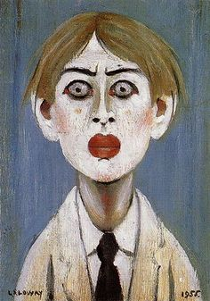 Buy Portrait of a Young Man 1955 oil painting reproductions on canvas. Museum quality hand-painted L-S-Lowry replica canvas. Portraits, Portrait Images, Female Portrait, Face Sketch, English Artists, Oil Painting Reproductions, Art For Art Sake, Figurative Art, Dark Art