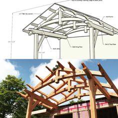 227 отметок «Нравится», 1 комментариев — Caledon Timberframes (@caledon_timberframes) в Instagram: «From design to finished product #timberframe #design #sketchup #douglasfir #woodisgood #woodworking…»