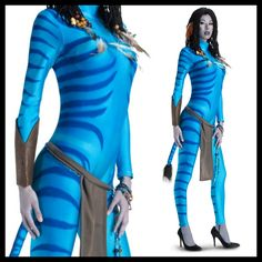 How to Make a Neytiri Costume #stepbystep