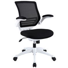 Edge White Base Office Chair EEI-596