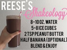 My FAVORITE Chocolate Shakeology Recipe