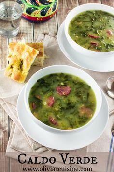 Caldo Verde (Portuguese Green Soup)   www.oliviascuisine.com (scheduled via http://www.tailwindapp.com?utm_source=pinterest&utm_medium=twpin&utm_content=post1274975&utm_campaign=scheduler_attribution)