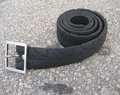 Repurposed Hybrid Bike Tire Belt