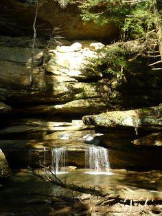 Old Man's Cave Hocking Hills Ohio