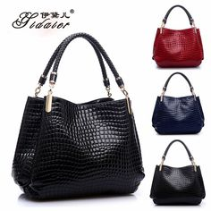 Alligator #Handbag in 3 Lovely Colors