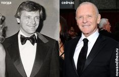 Antony Hopkins young old