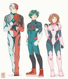 kirishima and uraraka My Hero Academia Memes, Hero Academia Characters, Buko No Hero Academia, My Hero Academia Manga, Anime Characters, Corpse Party, Cyberpunk, Character Art, Character Design