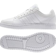 NEW ADIDAS HOOPS VS Neo Label MENS White Leather AW4584 NIB #Adidas #Athletic