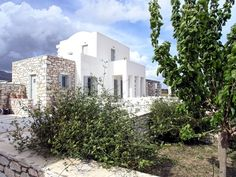 Paros villa rental Sleeps 6 Paros, Vacation Villas, Greece, Smoke, Mansions, House Styles, Products, Greece Country, Fancy Houses