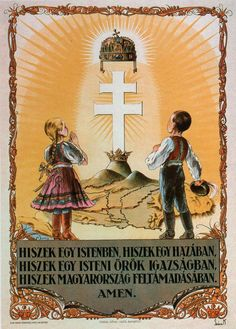 Hiszek egy Istenben, hiszek egy hazában... Hungary History, Folk Fashion, Budapest Hungary, Illustrations And Posters, Most Beautiful Cities, Eastern Europe, World History, Holy Spirit, Vintage Posters