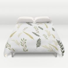 Leaves Pattern Duvet Cover