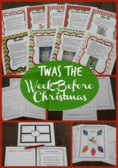 I love these Christmas activities that focus on different Christmas books that incorporate reading, writing, and a bit of art!