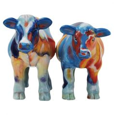 Cow Therapy Salt & Pepper Shakers