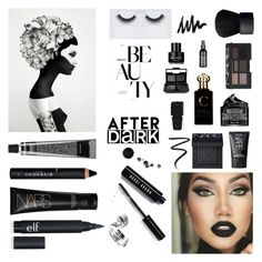 """""""Beauty After Dark - Polyvore Contest"""" by bb123456789 ❤ liked on Polyvore featuring beauty, David Jones, NARS Cosmetics, Givenchy, Eyeko, Peter Thomas Roth, Bobbi Brown Cosmetics, Georgie Beauty, Clive Christian and Gucci"""