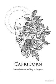 """Capricorn - Shitty Horoscopes Book XII: Obituaries"" Stickers by musterni Zodiac Capricorn, Capricorn Tattoo, Capricorn Quotes, Capricorn Traits, Zodiac Art, Zodiac Quotes, Capricorn Symbol, Astrology Signs, Zodiac Signs"