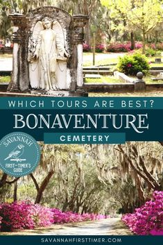 If you're looking for things to do in Savannah, a trip out to Bonaventure Cemetery is a must! Get the scoop from a local and learn which Bonaventure Cemetery tours are best.   savannahfirsttimer.com Usa Travel Guide, Travel Usa, Travel Tips, North America Destinations, Travel Destinations, Bonaventure Cemetery, Mexico Travel, Canada Travel