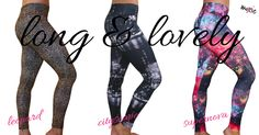 Today's the day!! These long & lovely leggings have just hit the shelves, and they are already flying out the door! I honestly can't decide on a favorite...they're like my children, and I love them all so much. But, I'm curious...which one is your favorite? Join our conversation on FB https://www.facebook.com/moxiefitnessapparel/photos/a.651240488248134.1073741829.642817052423811/985876078117905/?type=3&theater