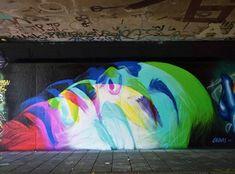 Streetart News [wall – Gera Royyal Dog, Norm Abartig Street Art Graffiti, Graffiti Murals, Sidewalk Chalk Art, Glitch Art, Korean Artist, Urban Art, Contemporary Artists, Insta Art, Lovers Art