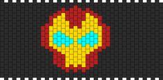Ironman Cuff bead pattern