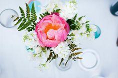 pink peony    {Photo credit: Michelle VanTine Photography}