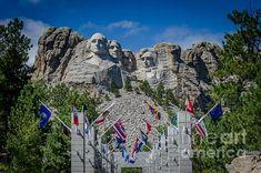 Title  Mount Rushmore National Memorial   Artist  Debra Martz   Medium  Photograph - Photography