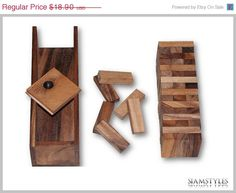 On Sale Wooden Blocks size M building blocks and by SiamStyles, $17.01