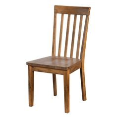 Get comfortable with the Sunny Designs Sedona Slatback Chair with wooden seat. Made of oak, this classic chair will compliment many decor styles, including rustic or casual. Chair Type: Dining Chairs
