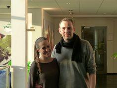 Oliver Wermeling und Laura Geisbüsch