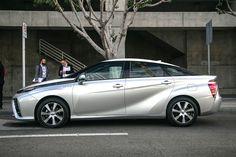 Toyota Mirai, a hydrogen fuel cell car