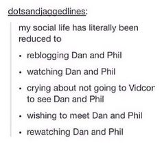CONSTANTLY THINKING ABOUT DAN AND PHIL