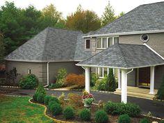 Mystic Slate #gaf #designer #roof #shingles #home   General Roofing Systems Canada (GRS) www.grscanadainc.com +1.877.497.3528   Roofing Contractors Calgary, Red Deer, Edmonton, Fort McMurray, Lloydminster, Saskatoon, Regina, Medicine Hat, Lethbridge, Canmore, Kelowna, Vancouver, Whistler, BC, Alberta, Saskatchewan