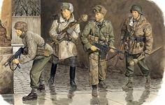 Waffen SS - 1945 Budapest Waffen SS 3a Division Totenkopf - Ron Volstad - Dragon