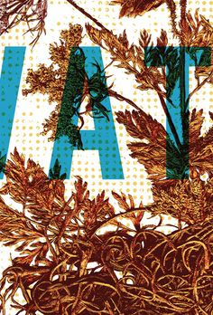 Detail of the Polaris Music Prize poster 2009 by Kirsten McCrea