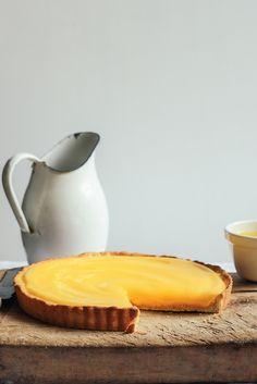 lemon cheesecake tart with lemon curd   fromthekitchen.co.nz