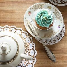 Earl Grey Cupcakes - Cupcake Recipes -Recipes - Baking Mad