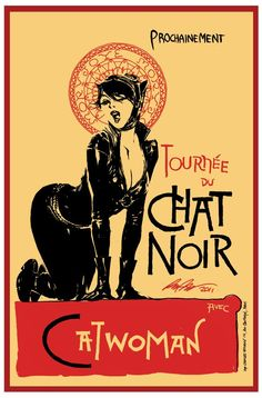 Considering the original is one of my favorite french art nouveau prints ever, this is pretty much AMAZING.