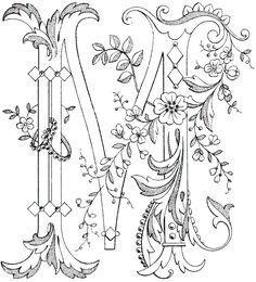 Gerelateerde afbeelding #EmbroideryLettersPatterns