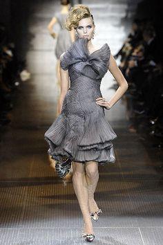 Armani Privé Spring 2008 Couture Fashion Show - Agnete Hegelund