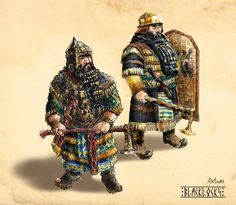 Blacklocks Clan Warriors by Artigas