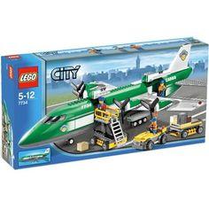 Lego City Cargo Plane Special Edition, 463 Pieces, 7734 LEGO http://www.amazon.com/dp/B0012GNGZW/ref=cm_sw_r_pi_dp_GS4Otb0T0YGKMKRP