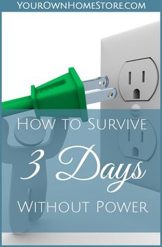Power Outage   No Electricity   How to survive a 3 day power outage   Preparedness Hacks   Storm Preparedness