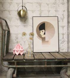 Styling by Gitte Christensen Poster from Vissevasse Exterior Design, Interior And Exterior, Objects, Fine Art, Wall Art, Bauhaus, Illustration, Poster, Photography