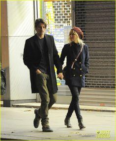 Kirsten Dunst & Garrett Hedlund in London