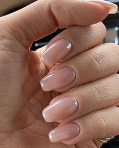blush nails, nude na Blush Nails, Neutral Nails, Nude Nails, Nuetral Nail Colors, Shellac Nail Colors, Glitter Nails, Coffin Nails, Oval Acrylic Nails, Acrylic Nail Designs